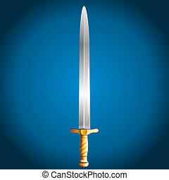Sword, vector illustration