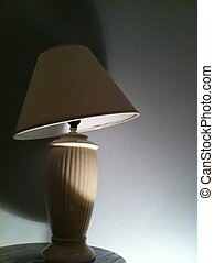 Bending Light - An interesting picture of a lamp that has...