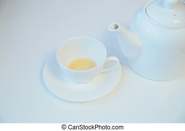 Cup of tea - Appearance and disappearance of tea -...