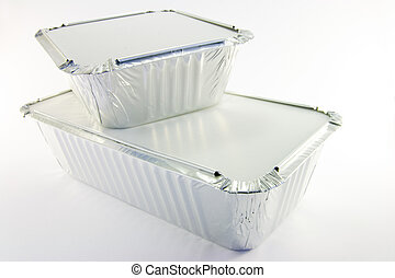 Rectangle and Square Catering Trays - 1 rectangle and 1...