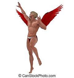 Cupids Midair - Caught in mid-flight
