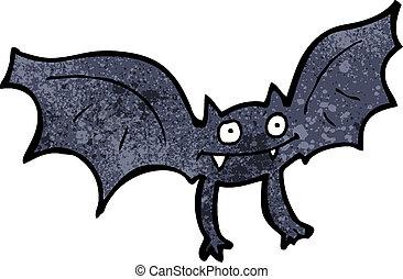 cartoon vampire bat