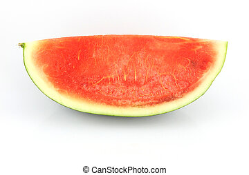 Watermelon which are sliced into - The Focus watermelon on...