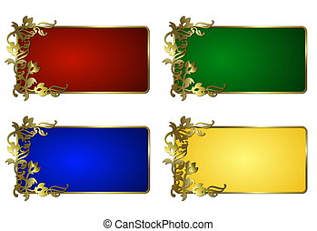 abstract frame set