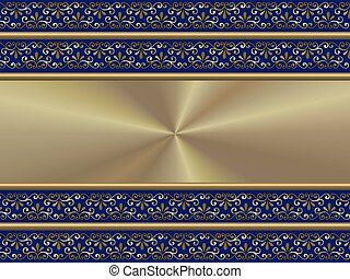 ceremonial background blue