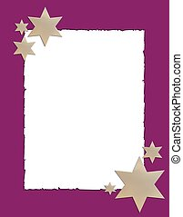 abstract frame stars