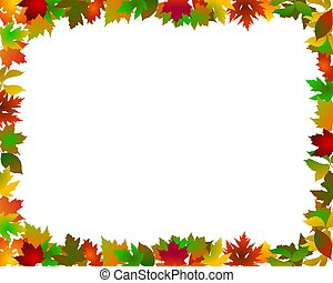 abstract frame autumn