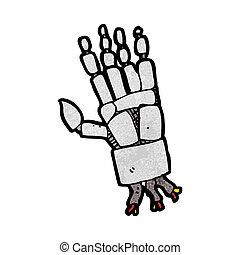 cartoon robot hand