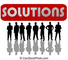 business people solutions