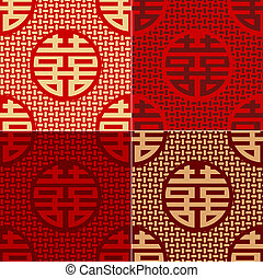 seamless chinese character pattern - seamless chinese...