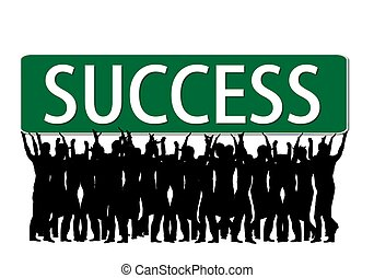 business people - success