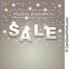 Holiday Sale background