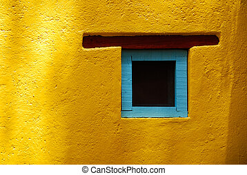 Rustic window, San Miguel de Allende, Mexico - Rustic window...