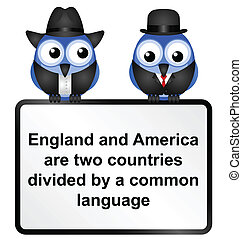 Language - British and American language differences...
