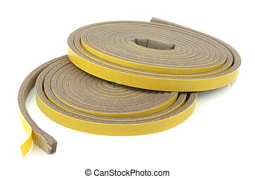 Rolls of Insulation Foam - Rolls self adhesive draft...