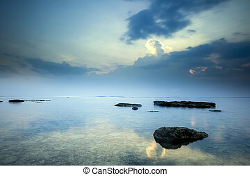 Water landscape - Beautiful landscape picture from a beach...