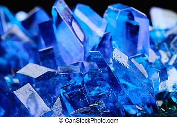 Copper sulfate - Crystals of blue vitriol - Copper sulfate