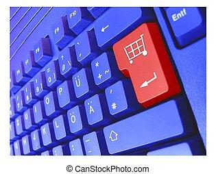 keyboard cart - keyboard shopping cart