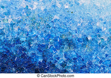 Stained glass chippings 12 - beautiful bright colored...