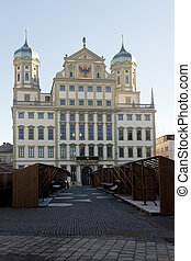The Town Hall of Augsburg - The town hall of Augsburg,...