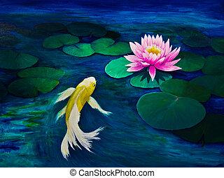 Images et photos de papillon peinture 14 627 images et for Koi papillon