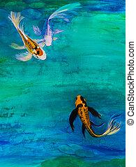 Images et photos de papillon peinture 16 714 images et for Koi papillon