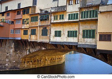 Ponte Vechio - Ponte Vecchio in morning light, Florence,...