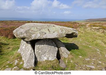 Neolítico, chambré, tumba