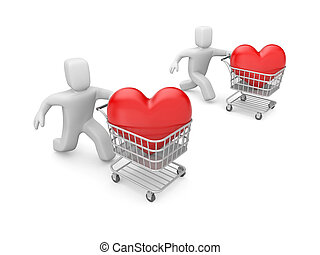 Valentines day challenge - Image contain the clipping path