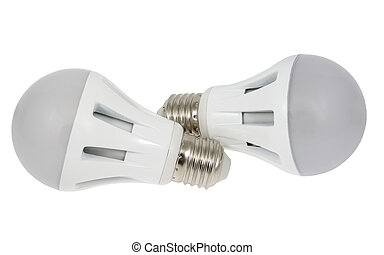 led lamp - LED energy saving bulb. Light-emitting diode....