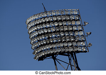 Floodlight in the Olympiastadion of Munich
