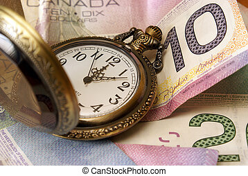 Time is Money - A concept based on time is money.