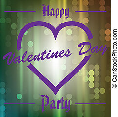 Happy Valentines Day Party - Love is in the air Happy...
