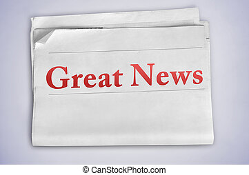Great News word
