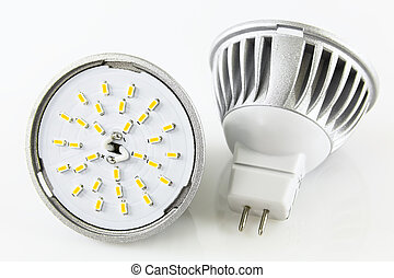 two MR16 LED bulbs without accidentally turned against each...