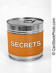 Secrets word on food can