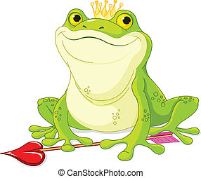Frog Prince  - Frog Prince waiting to be kissed