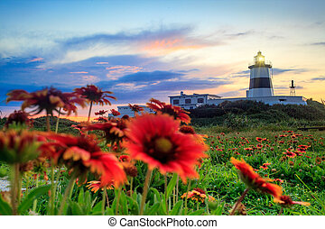 Fuguei Cape Lighthouse, Taiwan for adv or others purpose use