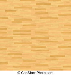 Vector Hardwood Floor - A vector illustration of hardwood...