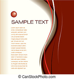 vector page layout - Abstract vector page layout background...