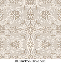 Seamless traditional wallpaper - Seamless traditional golden...