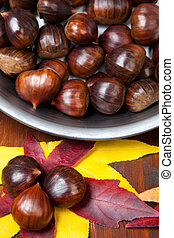 chestnuts - autumn fruit