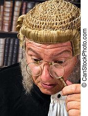 Lorgnette eyeglasses - Vintage eyeglasses or lorgnette worn...