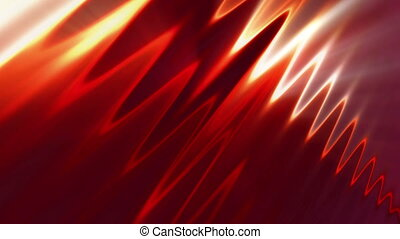 light waves - fire storm - Background Animation - Art...