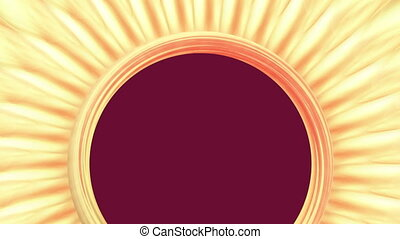 Sun anstract - Background Animation - Art supplies -...