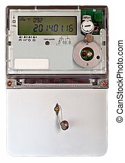 Energy meter  - A isolated home electric power meter