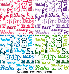 Seamless Baby Shower Backgrounds