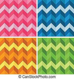 Seamless Zigzag Patterns