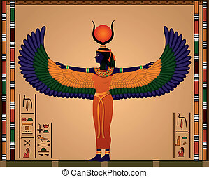 Isis - Religion of Ancient Egypt Isis - the goddess of...