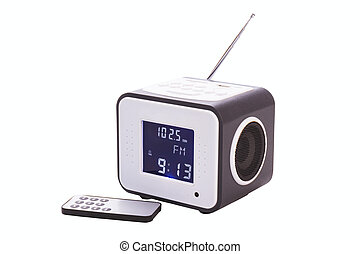 Portable radio receiver
